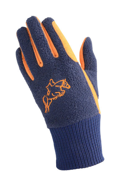 Hy5 Children's Winter Two Tone Riding Gloves image #2
