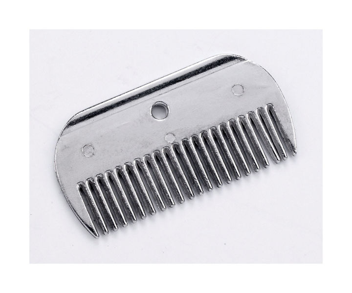 Lincoln Mane Comb - Aluminium image #1