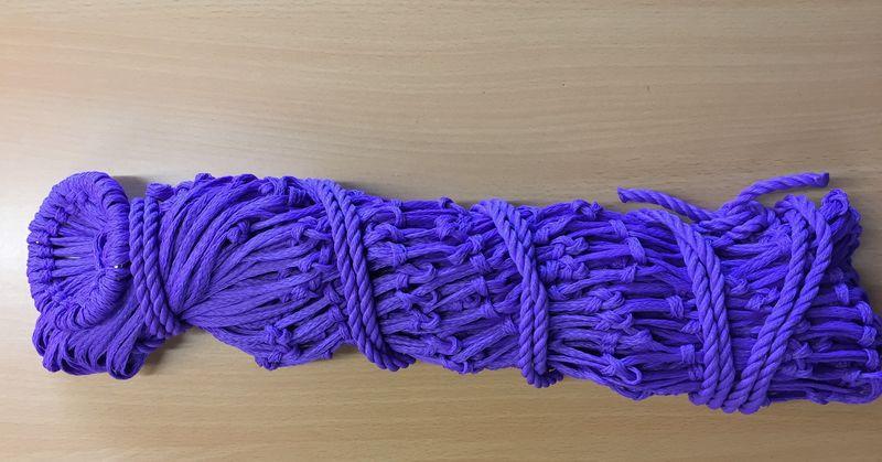 Lincoln Small Mesh Hay Net Purple