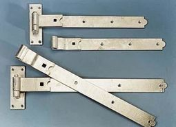 Galv Heavy Straight Hook & Band Hinges