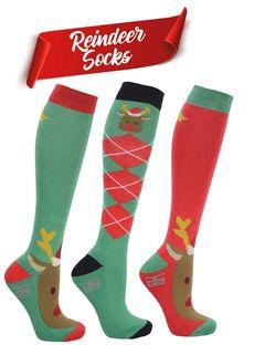 HyFASHION Christmas Socks (Pack of 3)
