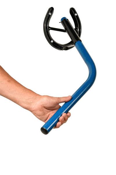 Classic Rotating Saddle Rack Blue