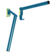 Folding Pole Saddle Rack Blue