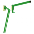 Folding Pole Saddle Rack Green