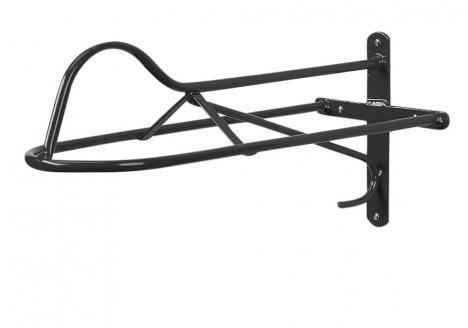 Forward Seat Saddle Rack Black