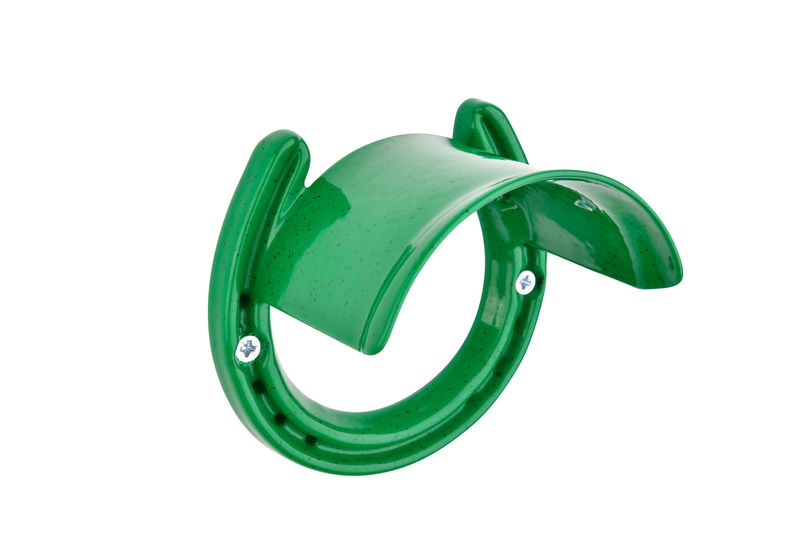 Classic Bridle Rack Green