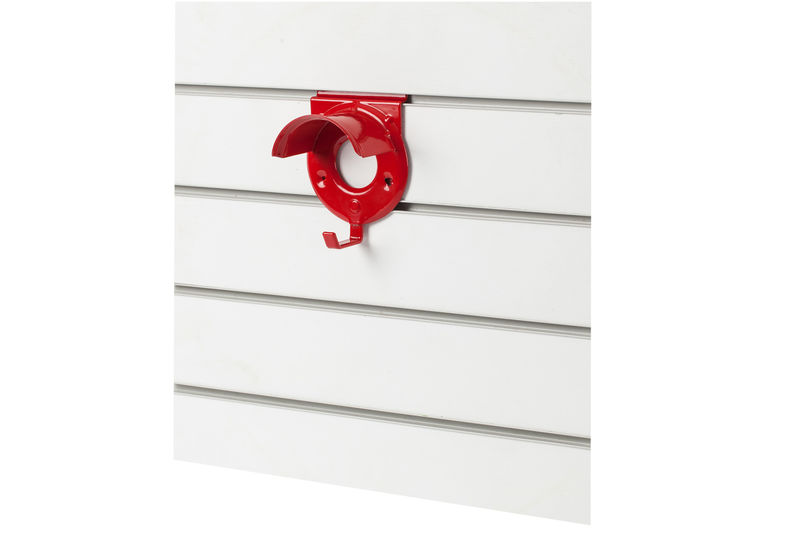 Slat Wall Bridle Rack Red
