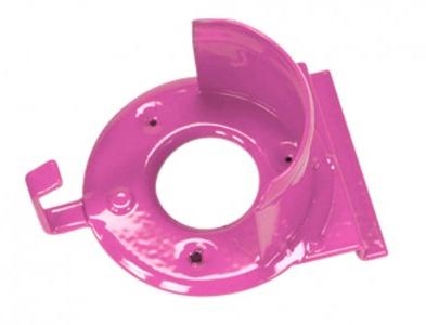 Slat Wall Bridle Rack Pink