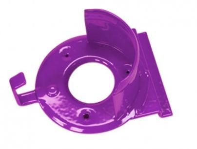 Slat Wall Bridle Rack Purple