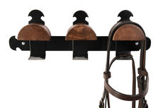 Retro Triple Bridle Racks
