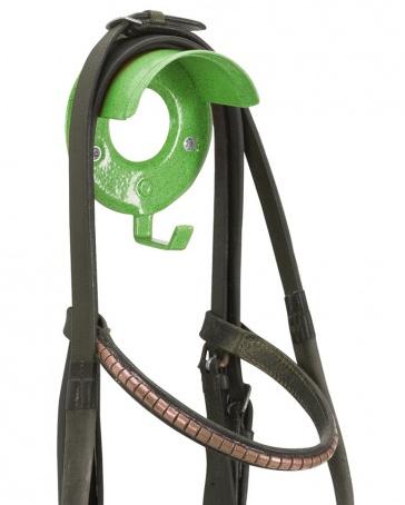 Individual Bridle Rack Green