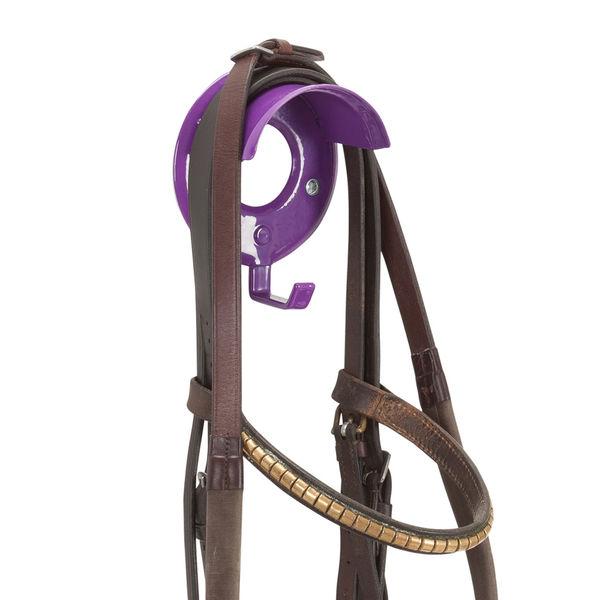 Individual Bridle Rack Purple