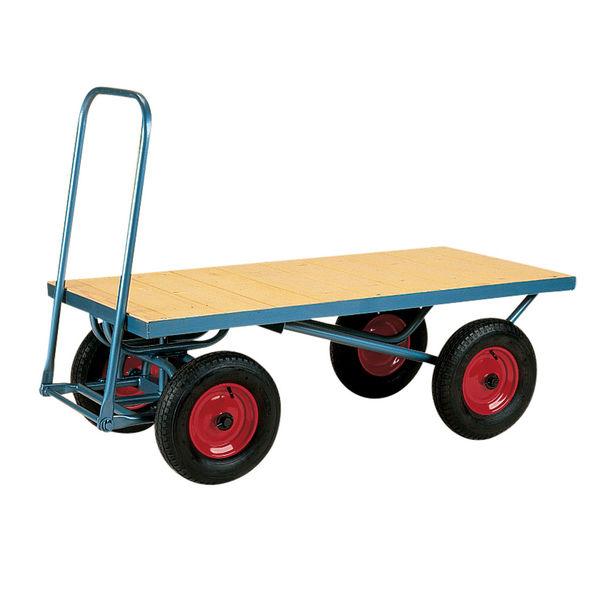 Four Wheeled Platform Trolley