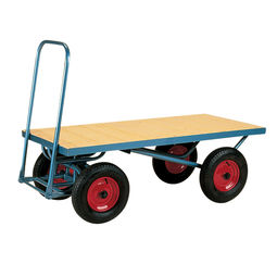 Four Wheeled Platform Trolley