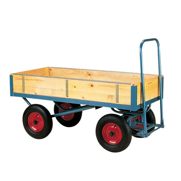 4 Wheeled Trolley with Removable Sides
