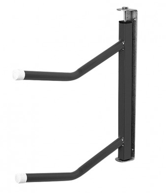 Double Arm Swivelling Saddle Rack Black