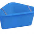 Polythene Corner Manger (blue)