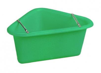 Polythene Corner Manger (green)