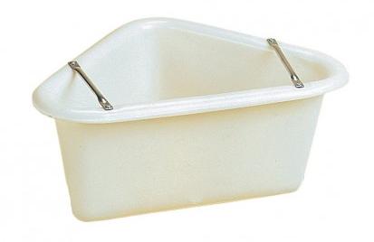 Polythene Corner Manger (white)