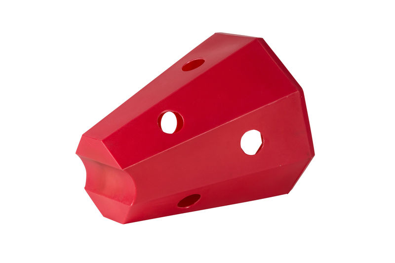 Hay roller horse Red