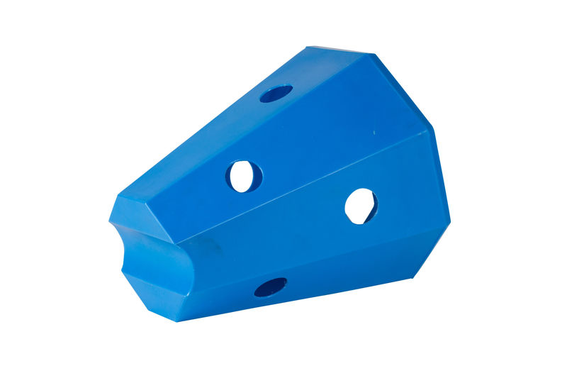 Hay roller horse blue