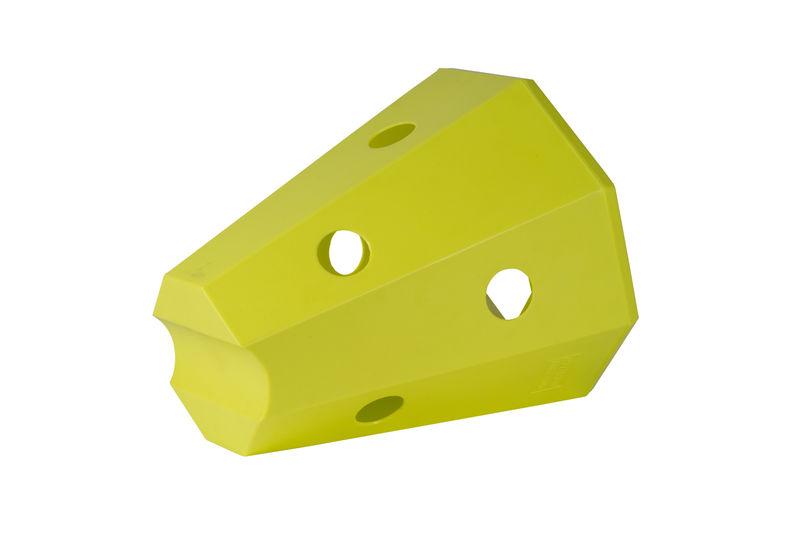 Hay roller pony yellow