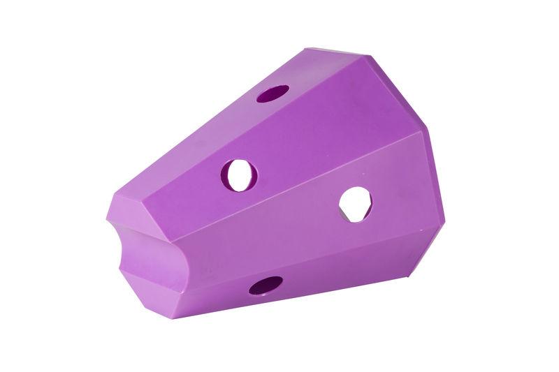 Hay roller horse purple