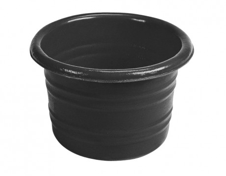 Stable Water Tub - 6 Gallon - Black