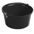Shallow Feed Bucket Black