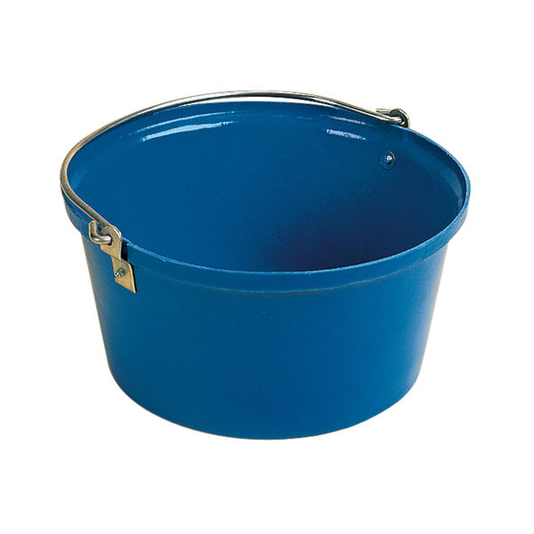 Shallow Feed Bucket Blue