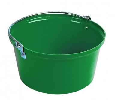 Shallow Feed Bucket Green