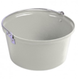 Shallow Feed Bucket White