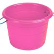 Large Manure Basket Pink