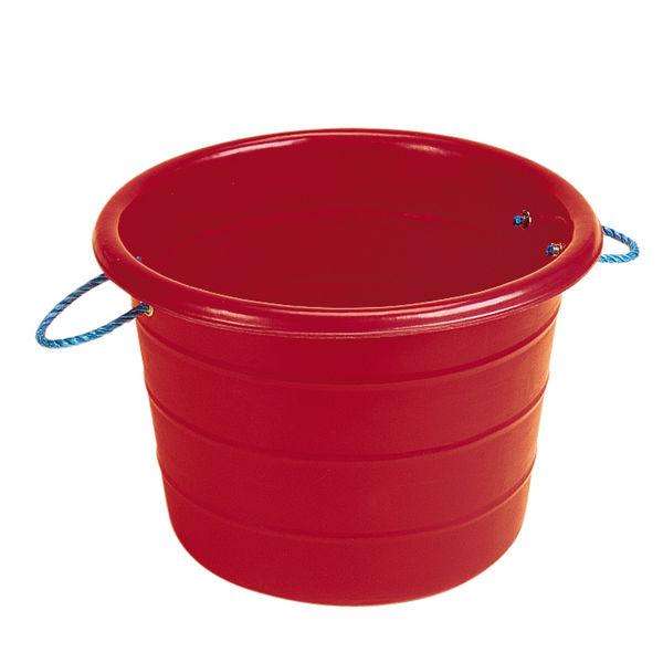 Large Manure Basket Red
