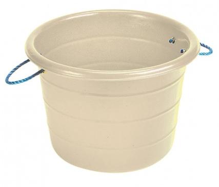 Large Manure Basket White