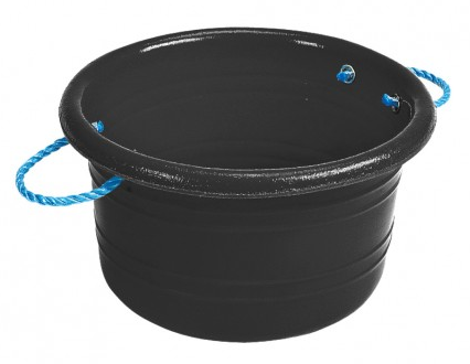 Medium Manure Basket Black