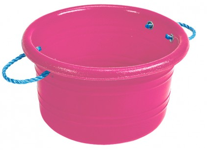 Medium Manure Basket Pink