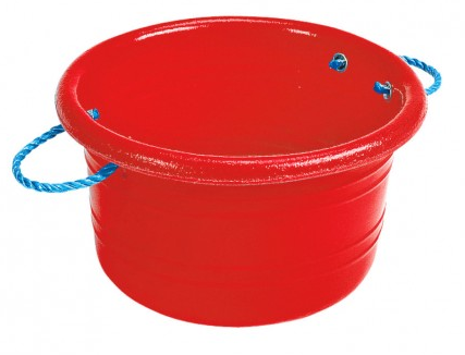 Medium Manure Basket Red