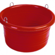 Large Feed Tub Red