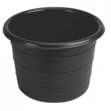 Feed Bin / Water Butt - 18 Gallons Black