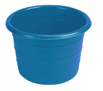 Feed Bin / Water Butt - 18 Gallons Blue