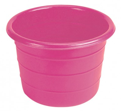 Feed Bin / Water Butt - 18 Gallons Pink