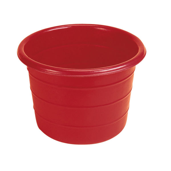Feed Bin / Water Butt - 18 Gallons Red