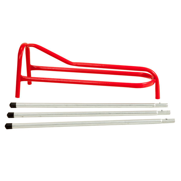 Tall Pack-Up 3 Leg Saddle Stand  Red