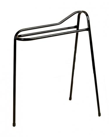 Tall 3 Leg Saddle Display Stand Black