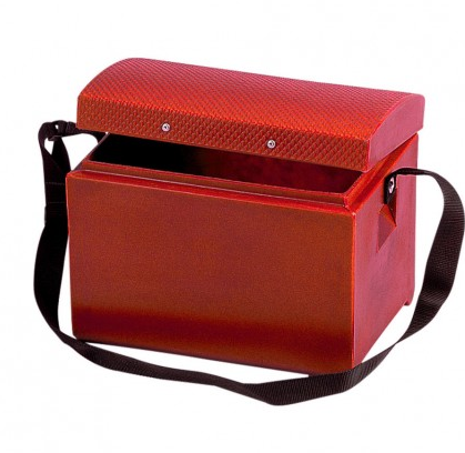 Tack Step With Strap Red