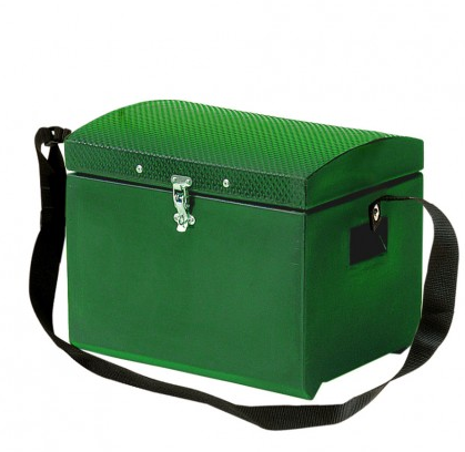 Tack Step With Strap & Fastener Green