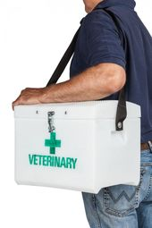 Veterinary Box With Strap