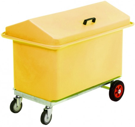 Mobile Tack Chest Yellow