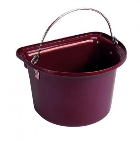 Flat Sided Bucket Burdundy